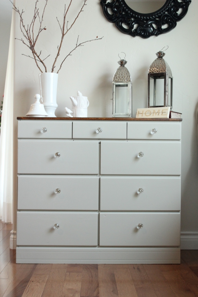 Two Toned Dresser